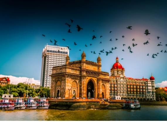 A metrópole Bombaim