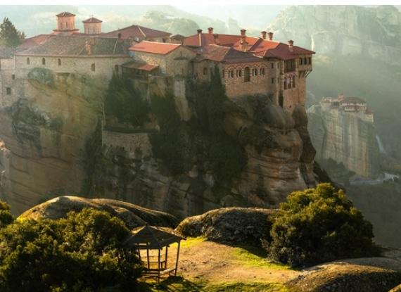 Meteora, centro religioso e monástico