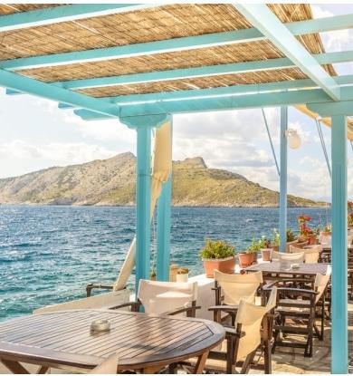 Apreciar a paisagem relaxante destas ilhas