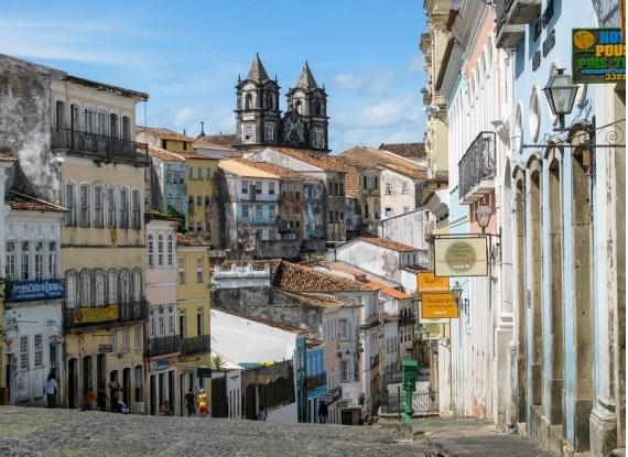 Centro histórico de Salvador da Bahia