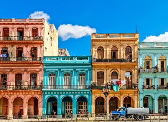 Surpreenda-se com a arquitetura única de Cuba